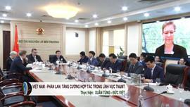 Việt Nam - Phần Lan: Tăng cường hợp tác trong lĩnh vực tài nguyên môi trường