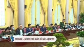 Công bố lệnh Chủ tịch nước đối với Luật Bảo vệ môi trường