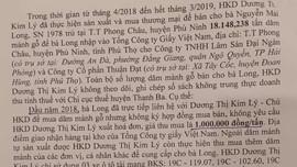 """Phú Thọ: Bị khởi tố tội trốn thuế - nhiều hộ kinh doanh, sản xuất dăm gỗ """"kêu cứu"""""""