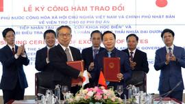 Nhật Bản viện trợ tàu nghiên cứu biển và thiết bị quan trắc rác thải nhựa đại dương cho Việt Nam