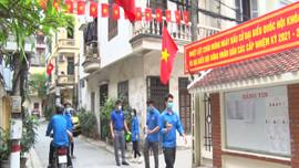 Hà Nội: Phường Yên Hòa ra quân tổng vệ sinh môi trường chào mừng ngày hội bầu cử
