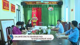 Cần làm rõ việc dồn điền đổi thửa tại huyện Chương Mỹ, Hà Nội