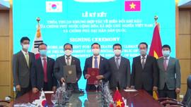 Việt Nam - Hàn Quốc: Ký kết Thỏa thuận khung hợp tác về biến đổi khí hậu
