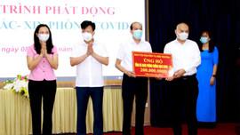 Báo Tài nguyên và Môi trường ủng hộ Quỹ vắc-xin phòng COVID-19 tỉnh Hà Nam 200 triệu đồng