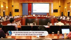 Các địa phương phía Bắc góp ý Dự thảo Nghị định quy định chi tiết một số điều của Luật BVMT