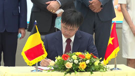 Ký kết hợp tác về lĩnh vực khí tượng thuỷ văn giữa Việt Nam và Vương quốc Bỉ