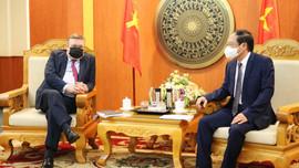 Thứ trưởng Lê Công Thành tiếp và làm việc với Đại sứ Hungary tại Việt Nam