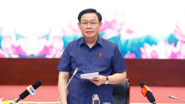 Chủ tịch Quốc hội Vương Đình Huệ làm việc với Bộ TN&MT về sửa đổi Luật Đất đai