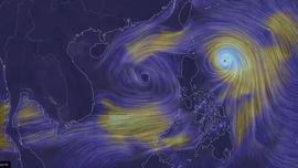 Bão Conson diễn biến rất khó lường do chịu tác động từ bão Chanthu