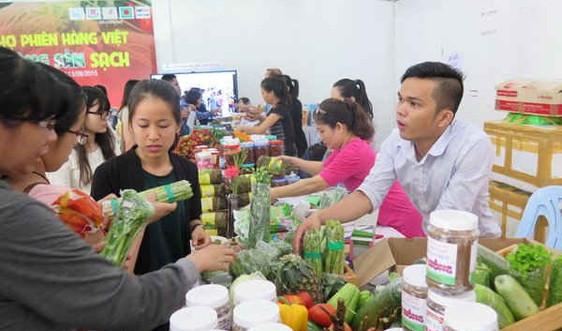 TPHCM tổ chức phiên chợ hàng Việt và nông sản sạch