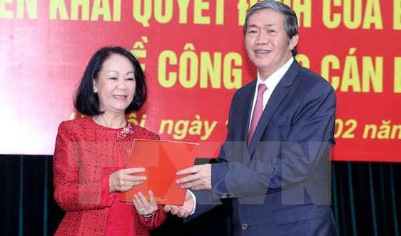 Công bố Quyết định phân công Trưởng Ban Dân vận Trung ương
