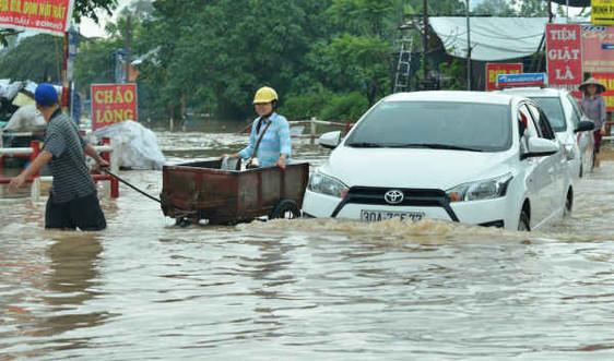 Nâng chất lượng dự báo mưa lớn