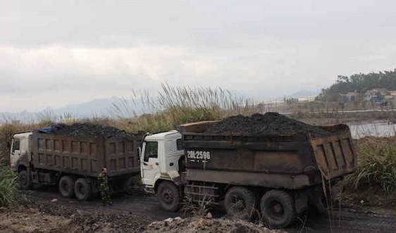 Chấm dứt vận chuyển than bằng đường bộ vào năm 2017