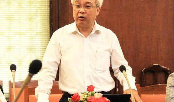 Ông Phan Thanh Bình thôi giữ chức Giám đốc Đại học Quốc gia TP.HCM