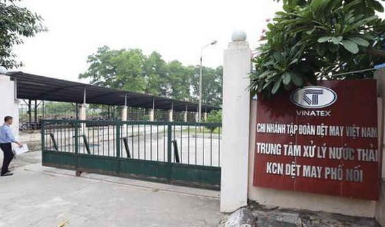 Xả thải gây ô nhiễm, Vinatex Hưng Yên bị phạt hơn 550 triệu đồng