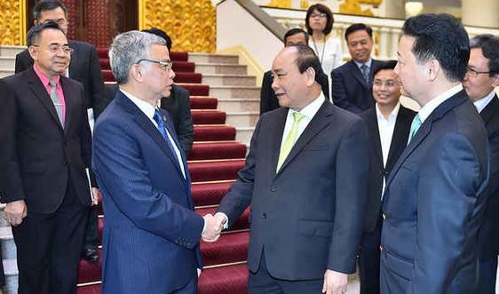 Thủ tướng tiếp Bộ trưởng Bộ Tài nguyên và Môi trường Lào