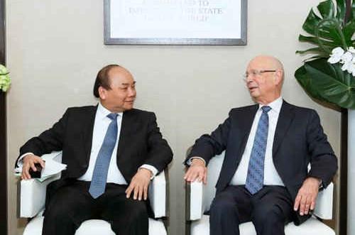 Thủ tướng Nguyễn Xuân Phúc dự lễ ký thỏa thuận hợp tác PPP đầu tiên với WEF