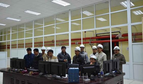 Thủy điện Trung Sơn chính thức hòa điện lưới quốc gia