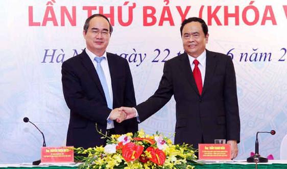 Ông Trần Thanh Mẫn làm Chủ tịch UB Trung ương Mặt trận Tổ quốc Việt Nam