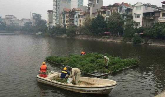 Làm sạch nguồn nước sông, hồ Hà Nội: Phải làm tận gốc