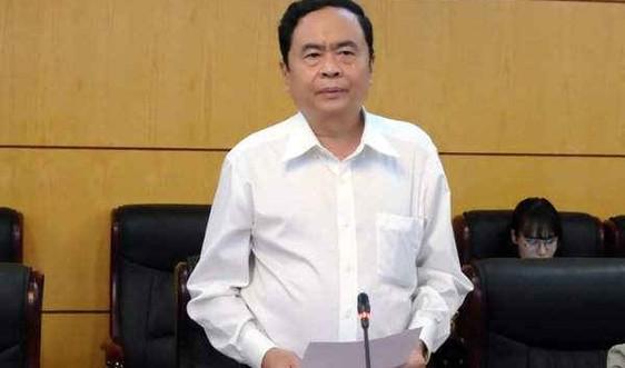 Chủ tịch MTTQ Việt Nam Trần Thanh Mẫn: Bộ TN&MT làm tốt việc công khai kết luận thanh tra