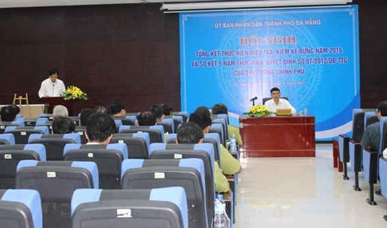 Đà Nẵng: Công bố kết quả điều tra và kiểm kê rừng