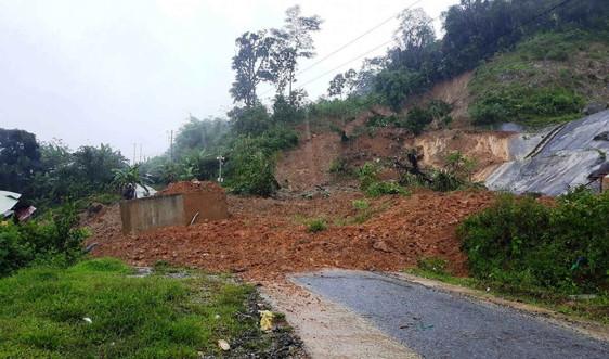 Quảng Nam: Sạt lở núi vùi lấp 7 người ở Bắc Trà My