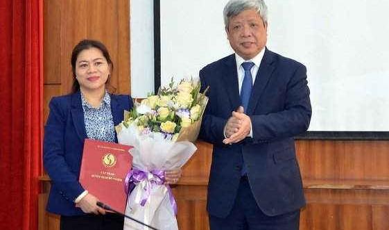 Trao Quyết định bổ nhiệm Phó Tổng cục trưởng Tổng cục Biển và Hải đảo Việt Nam