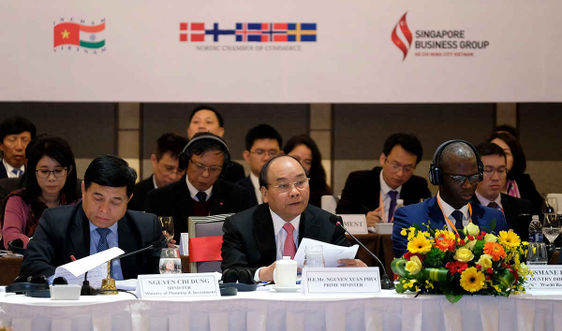 Thủ tướng Nguyễn Xuân Phúc: Mỗi đồng vốn của doanh nghiệp là một 'lá phiếu'