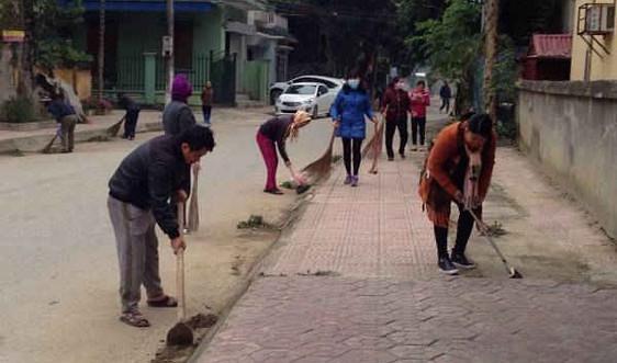TP Điện Biên Phủ: Tổng vệ sinh môi trường đón năm mới
