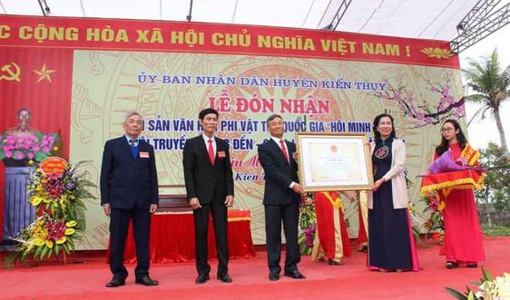 Hải Phòng:  Lễ hội thề  Minh Thề là Di sản văn hóa phi vật thể quốc gia