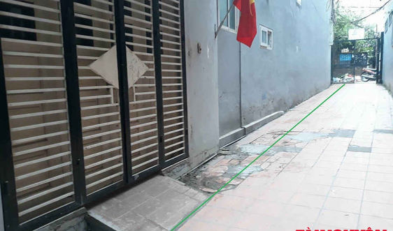 Tây Hồ - Hà Nội: Dân xin xây tường rào trên đất sổ đỏ, khó hơn ''lên trời''!