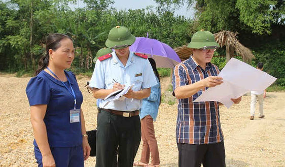 Sở TNMT tỉnh Yên Bái trực tiếp kiểm tra nội dung Báo TN&MT phản ánh