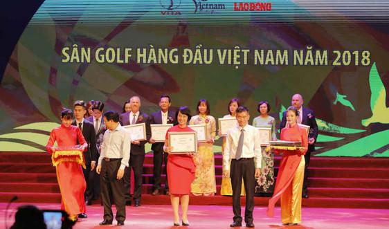 """FLC Sam Son Golf Links nhận giải thưởng """"Sân golf hàng đầu Việt Nam"""""""