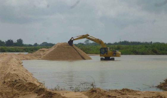 Bình Sơn, Quảng Ngãi: Đóng cửa mỏ khoáng sản cát làm vật liệu xây dựng thông thường tại mỏ cát thôn Lộc Thinh và mỏ cát Thác Gốc