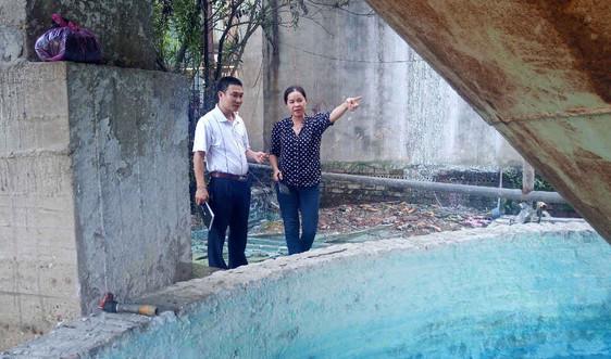 Thái Nguyên: Chi nhánh Công ty Cổ phần Giấy Trường Xuân để nước thải tràn ra môi trường