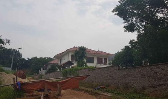 Vĩnh Phúc: Công ty Kim Long sử dụng đất sai mục đích, để hàng loạt biệt thự xây dựng không phép