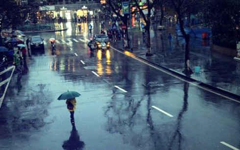 Bắc Bộ và Trung Bộ: Hai ngày cuối tuần có mưa, thời tiết mát mẻ do không khí lạnh