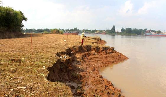 """Xã Minh Tân (Hải Dương): """"Cát tặc"""" nuốt mất hàng chục héc ta đất"""