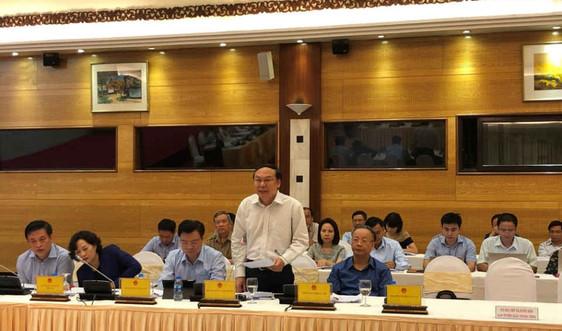 """Thứ trưởng Bộ TN&MT Lê Công Thành thông tin về việc xử lý các container phế liệu nhập khẩu """"không chủ"""""""