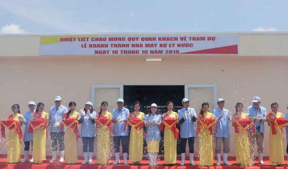 Tập đoàn Việt - Úc: Khánh thành Nhà máy xử lý nước hiện đại