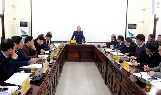 Bộ Tài nguyên và Môi trường làm việc với tỉnh Bắc Ninh triển khai xây dựng Trường Đại học Tài nguyên và Môi TrườngHà Nội