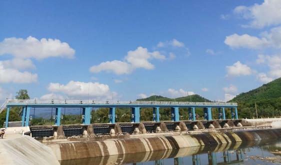 """Đập dâng Cây Gai (huyện Phù Cát, Bình Định) được nâng cấp, sửa chữa: Giải """"cơn khát"""" cho vùng đất khó"""