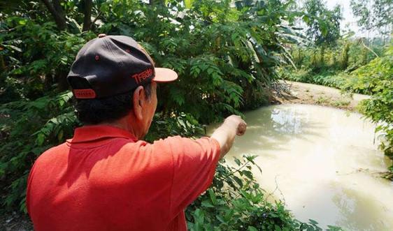 Dân Đà Nẵng bất an bởi nước kênh đổi màu trắng đục bất thường