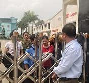 """KCN Đài Tín - Phúc Khánh (Thái Bình): Công nhân """"tố"""" làm việc trong môi trường độc hại"""