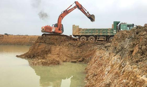 Thanh Hóa: Vi phạm nạo vét lòng hồ Cầu Võ, UBND tỉnh chưa chấp thuận gia hạn tận thu đối với công ty Trường Phát