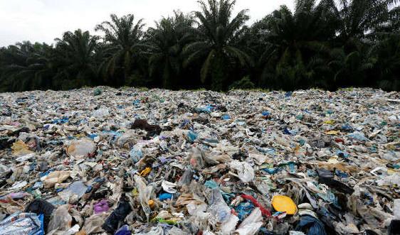 Malaysia trả 3.000 tấn chất thải nhựa về lại các nước khác