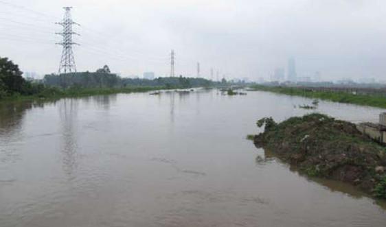 Nguy cơ ngập úng cao ở 3 lưu vực sông của Hà Nội