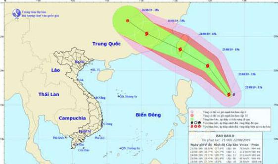 Tin bão gần biển Đông - cơn bão BAILU