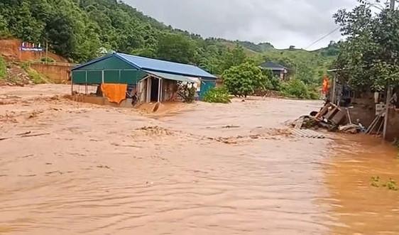 Sơn La: 22 hộ dân bị ảnh hưởng do mưa lũ